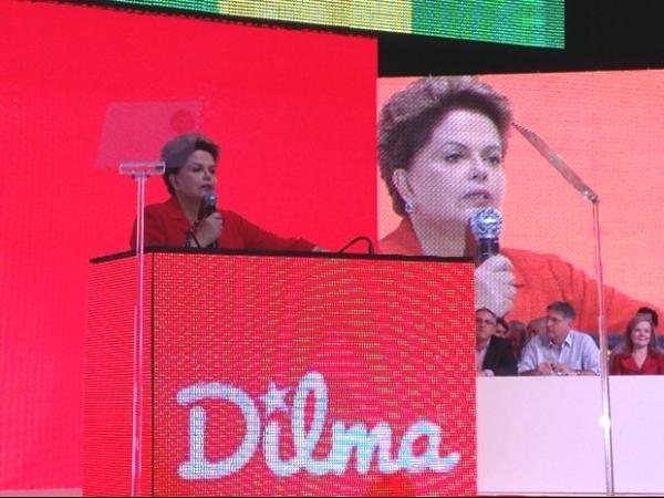 Em convenção nacional, PT oficializa Dilma para disputar a reeleição