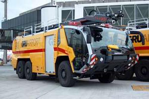 Aeroporto de Guarulhos recebe segundo Panther 6x6