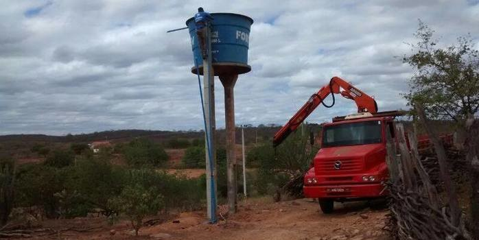 Mais água – Comunidade Boa Vista recebe novo sistema de abastecimento de água.