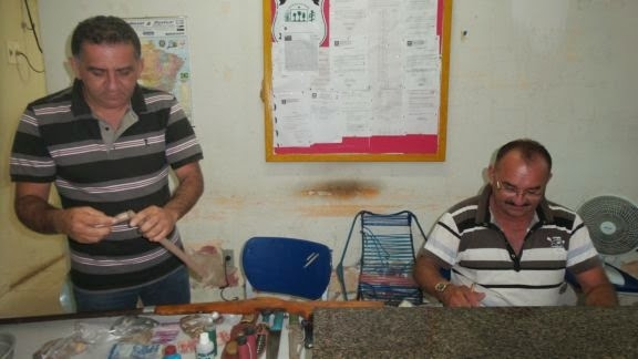 Policia fecha boca de fumo na Ilha Grande de Santa Isabel