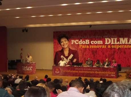 Fiel ao PT, PCdoB confirma apoio à reeleição de Dilma