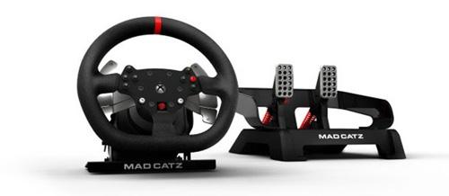 Volante da Mad Katz para Xbox One começa a ser vendido em julho