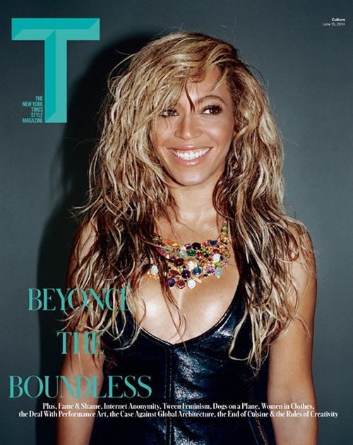 Beyoncé aparece sexy e decotada em capa de revista