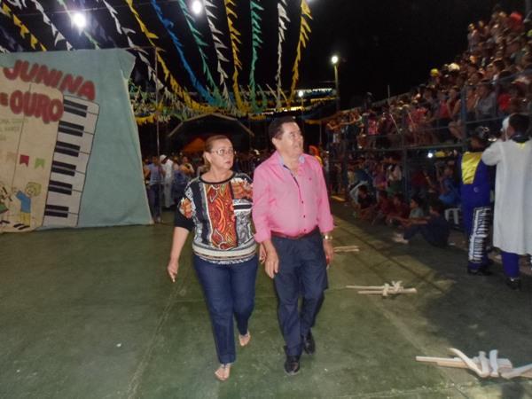 Ex-Prefeito Alcântara participa do XXVI Festival Cultural de Quadrilhas Junina