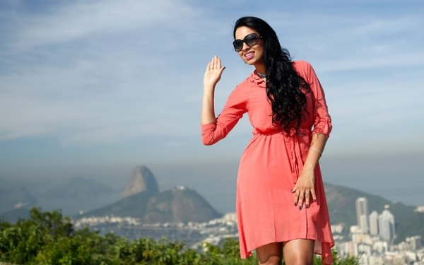 Ariadna prepara volta para a Itália e se despede do Brasil: