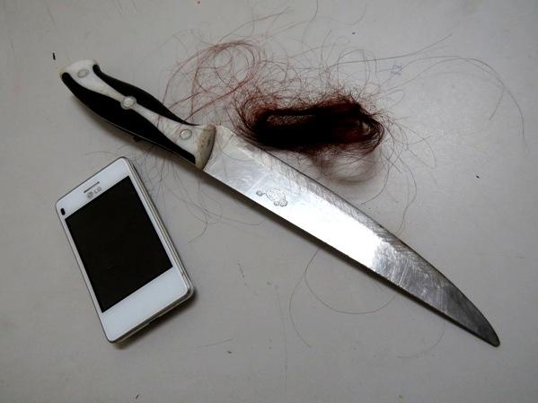 Jovem tenta matar a irmã a faca e espancamento pelo vício de crack