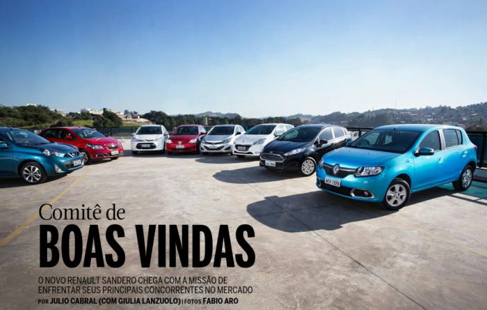 Novo Renault Sandero é o Campeão entre os hatchs da concorrência