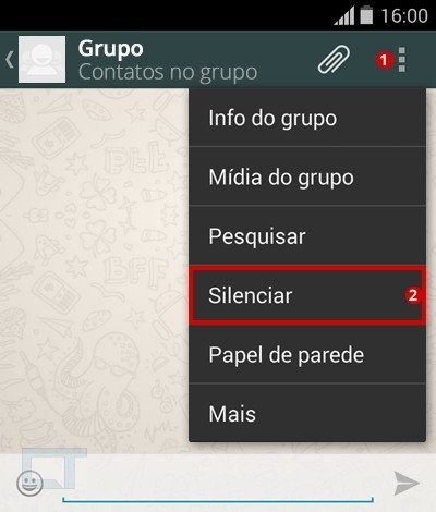 Como silenciar grupos do WhatsApp e impedir sons e notificações?