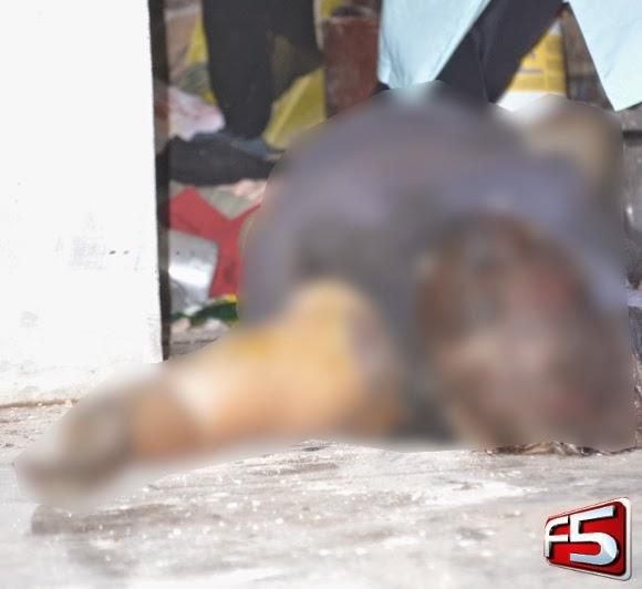 Mulher  encontrada morta dentro de casa j em estado de decomposi鈬o