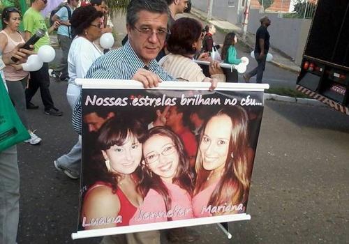 Foto inédita do Google de jovem morta na tragédia em Santa Maria emociona pai