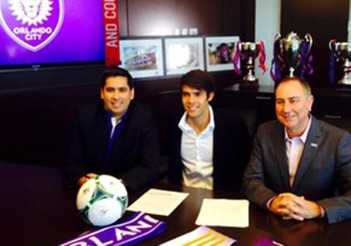 Kaká assina com Orlando e clube fára empréstimo do jogador para SP