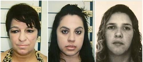 Polícia divulga fotos de amante e amigas presas suspeitas do crime