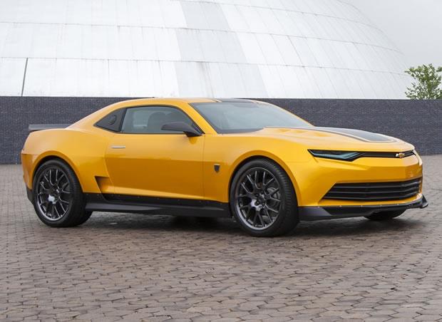 Camaro mais futurista é estrela de Transformers ? A Era da extinção