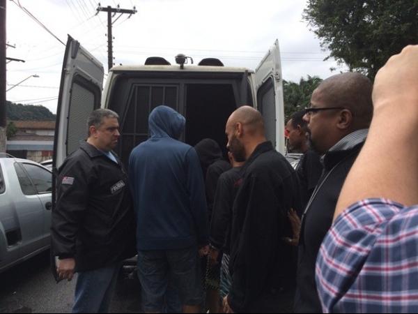 Edinho é transferido de delegacia para Centro de Detenção Provisória