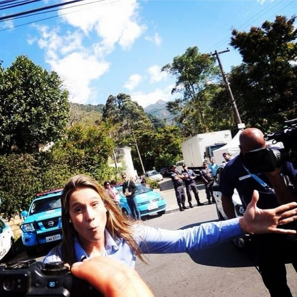 Fernanda Gentil se despede de Teresópolis e brinca: