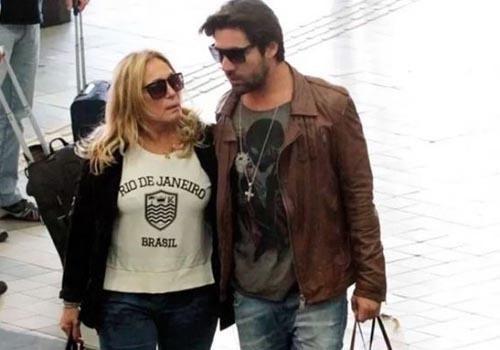 Susana Vieira e Sandro Pedroso terminam namoro novamente