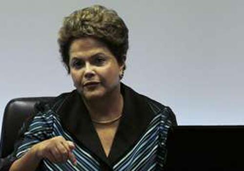 Dilma vê condições pra retomada na economia com investimentos