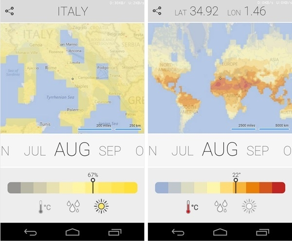 Microsoft lança app Climatology com dados sobre o clima do mundo