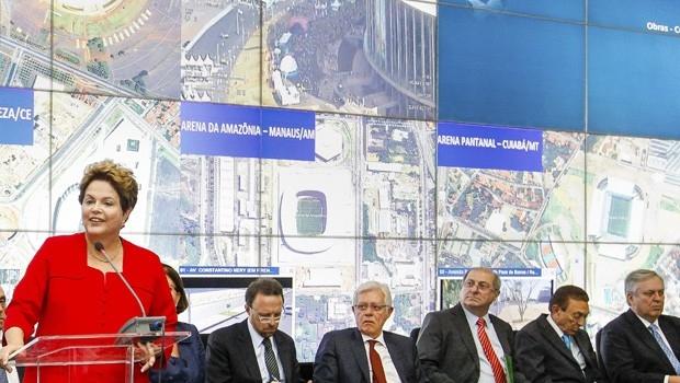Em balanço da Copa, Dilma diz que Brasil derrotou prognósticos