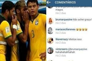 Humorista faz piada com Neymar e Bruna Marquezine responde