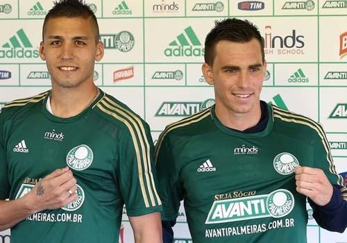 Verdão apresenta reforços argentinos e faz pedido: