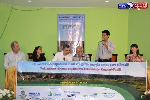 Cadeirão Grande sedia audiência sobre Complexo Eólico que será feito no município - Imagem 8