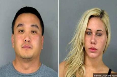 Casal é flagrado tendo relações sexuais no telhado de restaurante e vai preso