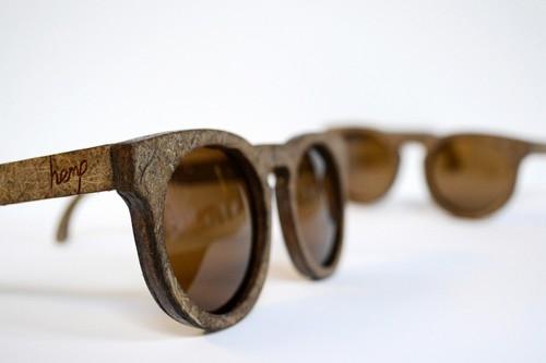 Designer cria modelo de óculos à base de maconha