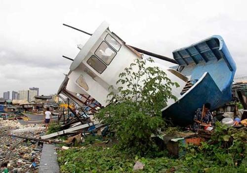 Passa de 30 o número de mortos  pelo tufão Rammasun nas Filipinas