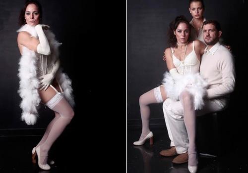 Aos 45 anos, Claudia Mauro fica de lingerie no teatro: