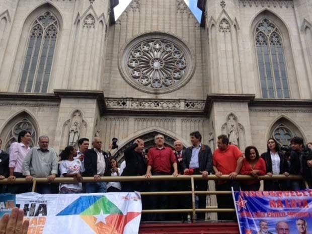 Lula desafia PSDB e diz que ele criou mais mecanismos contra a corrupção
