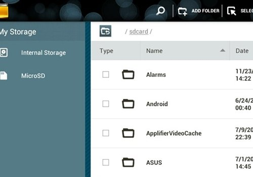 Como mover arquivos e documentos para o microSD no Android?