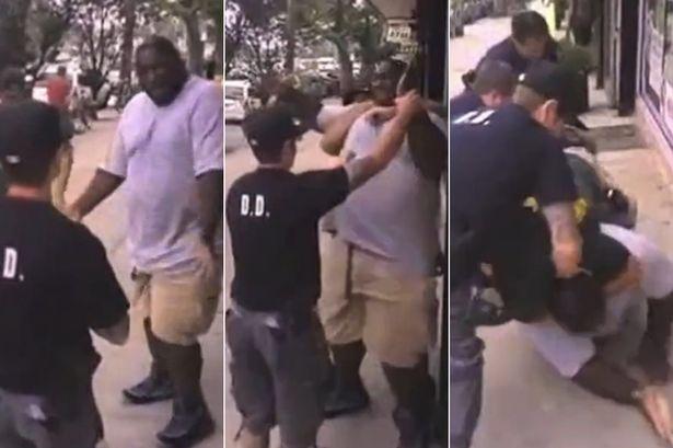 Homem morre asfixiado após a polícia fazer