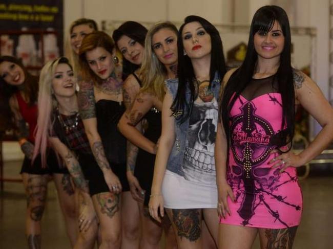 Miss Tattoo Week: conheça algumas finalistas do concurso