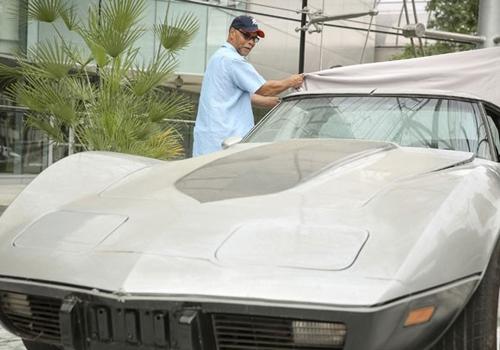 Americano recupera o seu Corvette que tinha sido roubado havia 33 anos