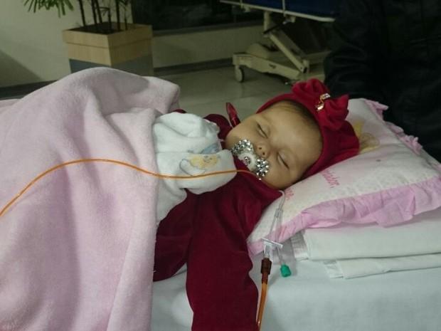 Sofia deixa Sorocaba e embarca para cirurgia nos Estados Unidos