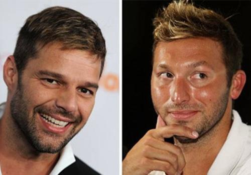 Revista afirma que cantor Ricky Martin está namorando nadador  Ian Thorpe