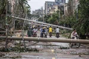 Tufão Rammasun provoca perdas de mais de US$ 4 bi na China
