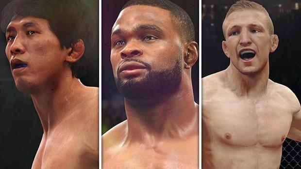Game do UFC ganha atualização grátis com três novos lutadores