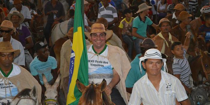 Prefeitura realiza 32ª Festa dos Vaqueiros e distribui prêmios aos participantes
