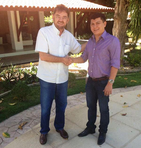 Prefeito de Cocal Rubens Vieira declara apoio a candidatura de Wilson Martins ao senado