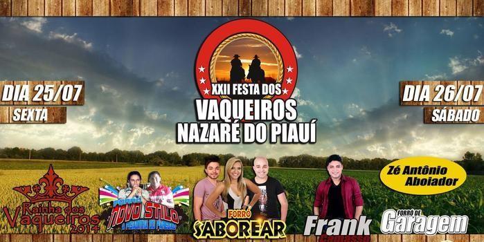 XXII Festa dos Vaqueiros em Nazaré do Piauí