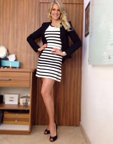 Com look do dia, Ana Hickmann ganha elogios: