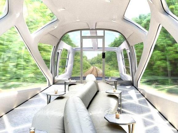 Japão terá trem de superluxo à partir de 2017
