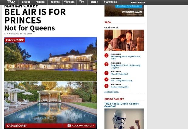 Mariah Carey vende mansão luxuosa por R$ 22 milhões, diz site