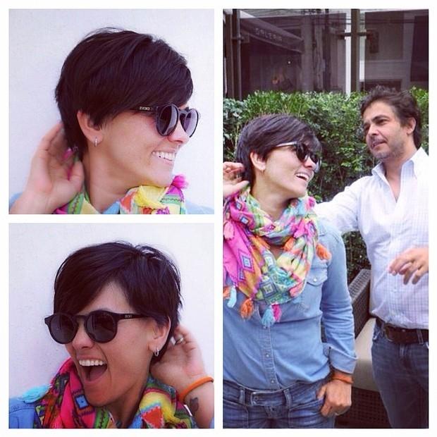 Suzana Alves, a ex-Tiazinha, corta o cabelo e mostra novo visual