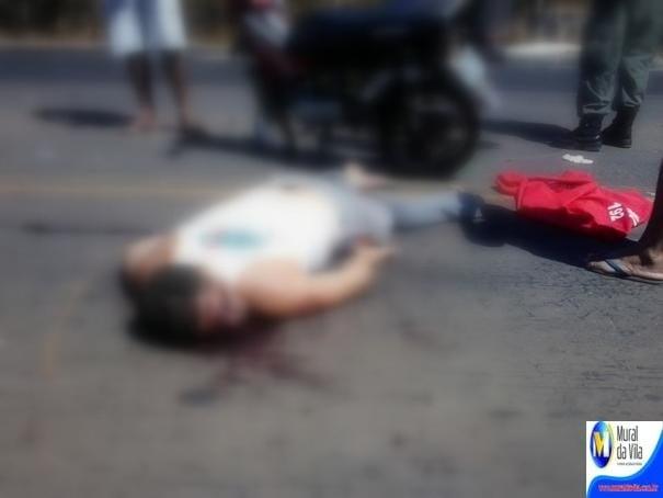Colisão entre ônibus e moto deixa homem morto em Oeiras