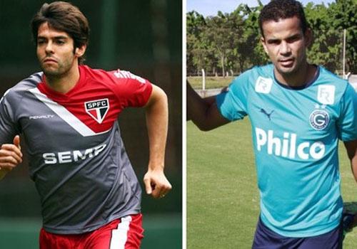 Com Kaká, São Paulo pega o Goiás, que espera acabar com jejum de gols