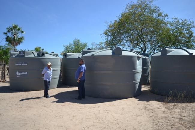 Belém do Piauí recebe cisternas do programa Água para Todos - Imagem 3