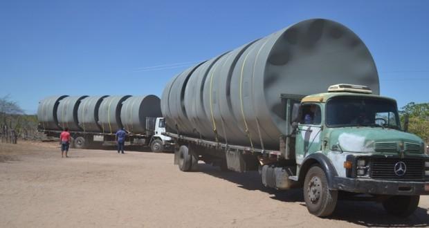Belém do Piauí recebe cisternas do programa Água para Todos - Imagem 2